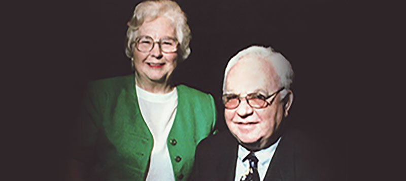 Anna Lee Schmidt Hamilton and William E. Schmidt