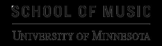 University of Minnesota School of Music Logo