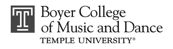 Temple University Boyer College of Music and Dance logo